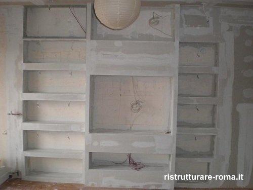 prezzi lavori in cartongesso - roma | ristrutturazione casa roma - Pareti In Gesso Prezzi